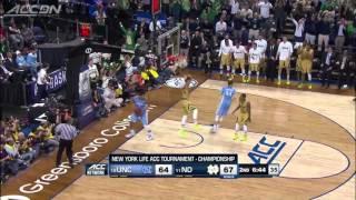 Notre Dame Basketball 2014-2015 - ACC Champions - Elite 8