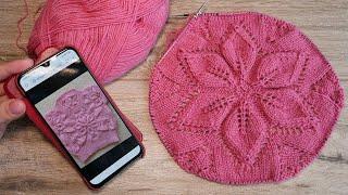 🎀 Детская безрукавка спицами из мотивов 🌸👚🌸 Motive for Baby Vest knitting pattern🎀