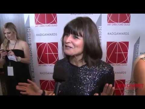 Maria Djurkovic, The Imitation Game, at the 19th Annual Art Directors Guild Awards ADGawards
