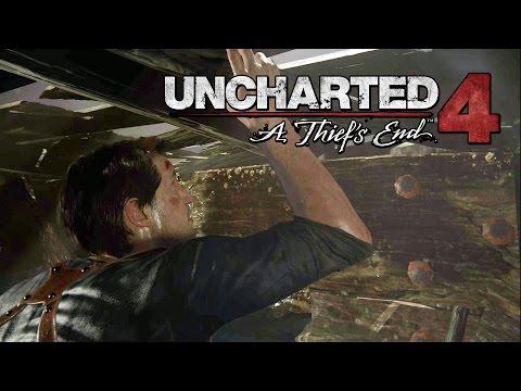 UNCHARTED 4 - Capítulo 21: Guardião do Irmão - Gameplay em Português PT-BR