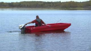 Tetra-POD: The only ATV trailer that flips into a Boat!