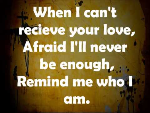 Remind Me Who I Am Accompaniment