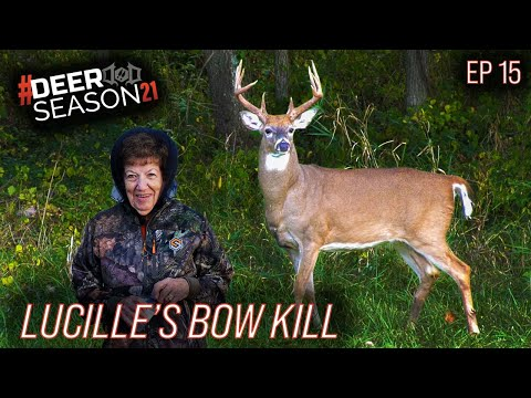 Lucille's Missouri Kill, Archery Hunting At 88 Years Old | Deer Season 21