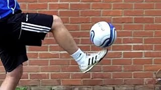 Learn Toe Stall / Balance - Football Soccer Skills