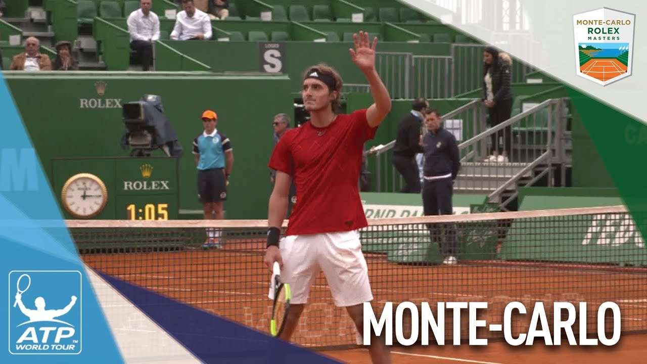 Tsitsipas Living The Dream In Monte-Carlo 2018