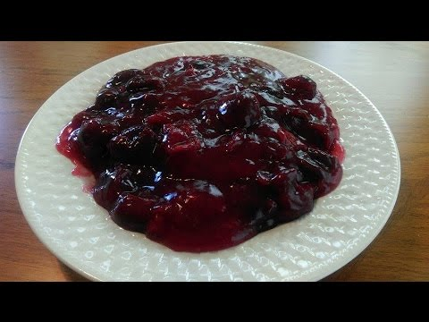 How to Make Cherry Pie Filling - The Hillbilly Kitchen