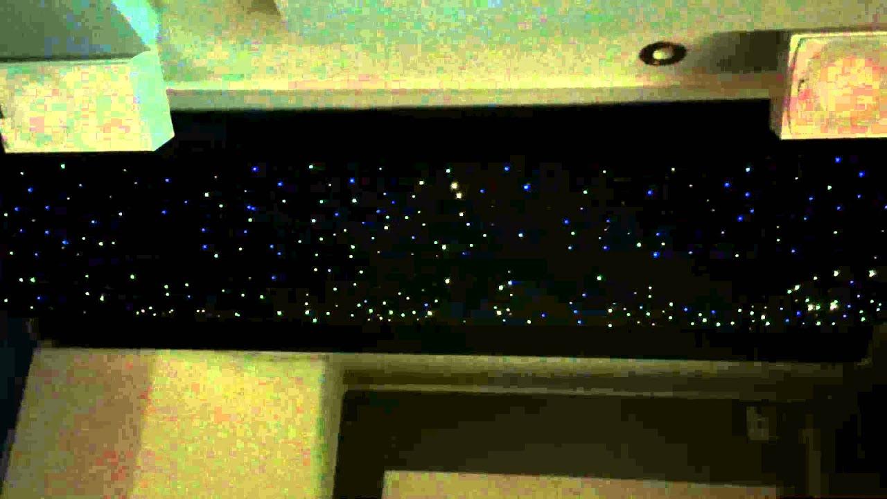 Sternenhimmel Wohnzimmer sternenhimmel im wohnzimmer mit funkeleffekt