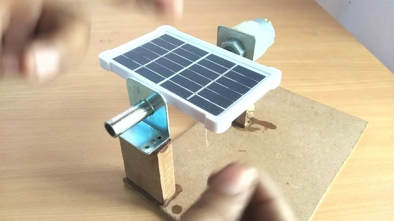 [DIY] How To Make Single Axis Solar Tracker Using Arduino [part1]