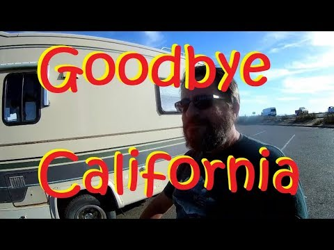 Leaving California on Historic Route 66 - Hello Arizona!