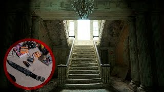 Exploring a Creepy Abandoned Mansion (Found Knives!)