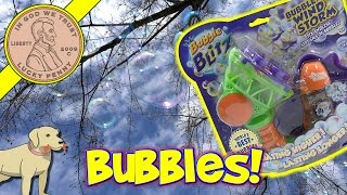 Bubble Windstorm Kids Bubble Toy Orange Scented Bubbles!