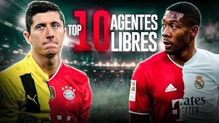 TOP 10: Agentes LIBRES