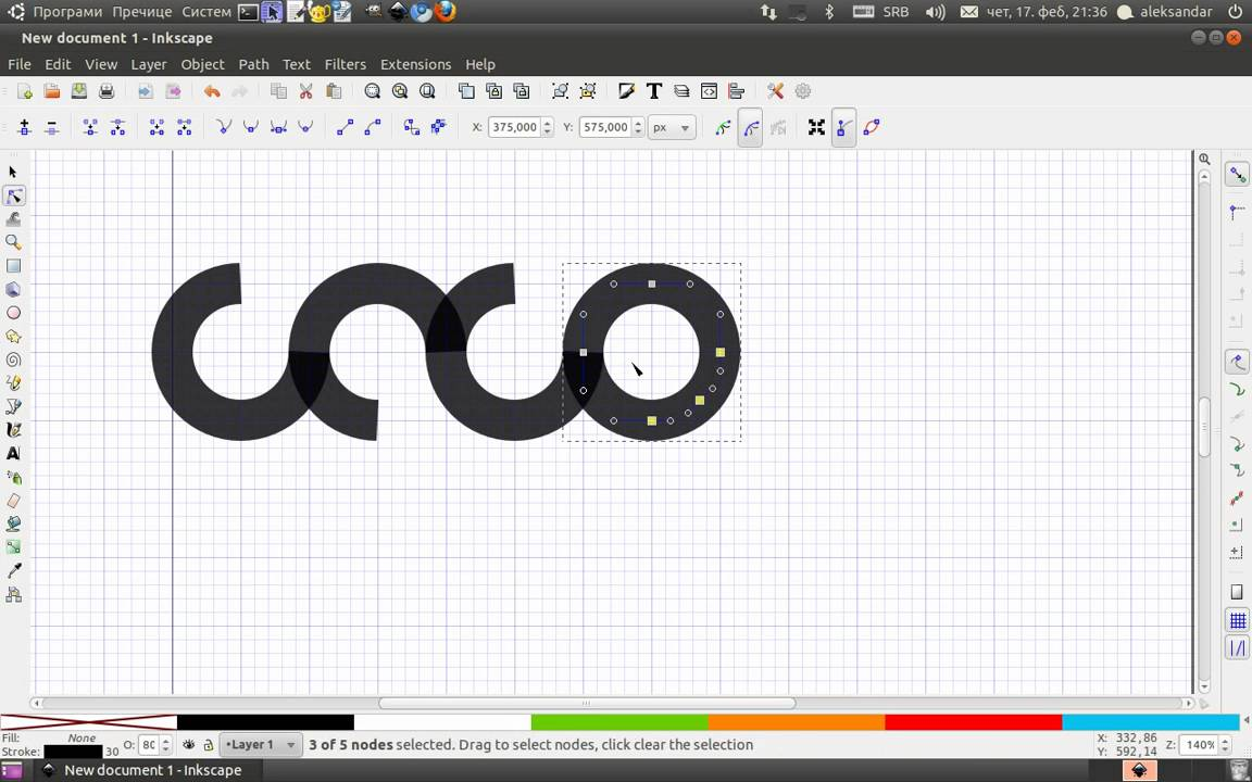 creation logo inkscape