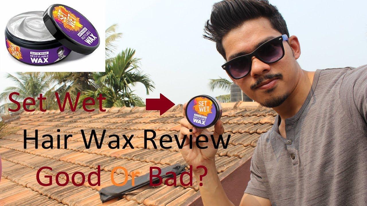 Set Wet Hair Wax Review Good Or Bad Set Wet Matte Magic Wax