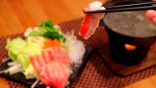 【捌いて食す】豪華なお正月!!金目鯛のしゃぶしゃぶ【赤髪のとも】