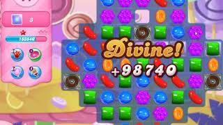 Candy Crush Saga Level 2765 New  19 Moves