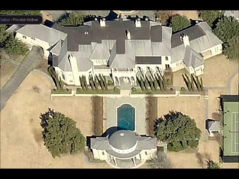 Mark Cuban's Preston Hollow Mansion - YouTube