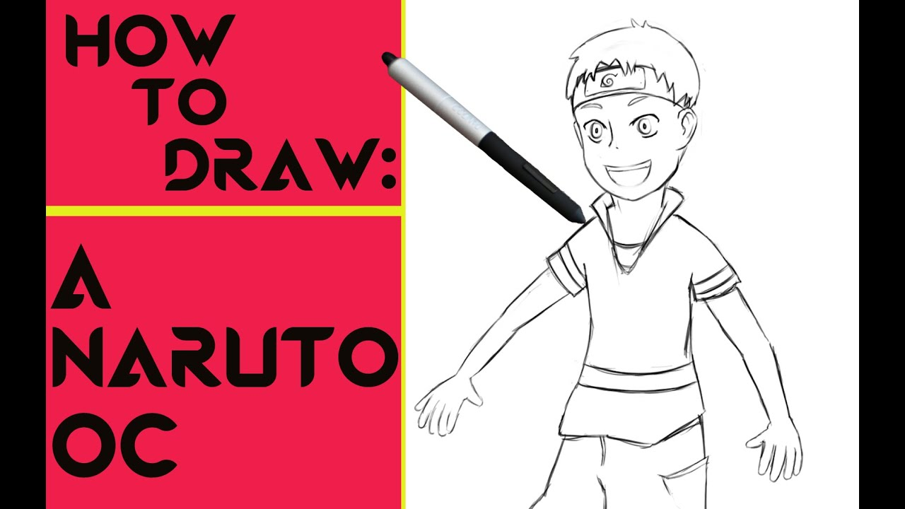 How To Draw Naruto Youtube