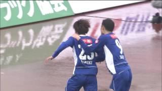 2017年4月15日(土)に行われた明治安田生命J2リーグ 第8節 山形vs東...