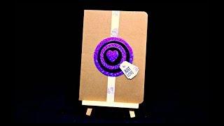 Herz Karte basteln mit Papier für Anfänger | DIY Inspiration Bastelideen basteln gegen Langeweile
