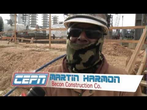 Port Arthur Refinery construction highlight video (2009)