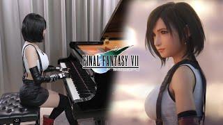 Final Fantasy VII「Tifa's Theme」Ru's Piano Cover | Tifa Short Hair ver.❤️