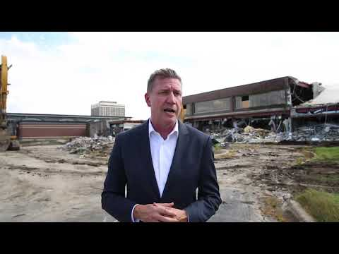 Galvin Center demolished in Schaumburg