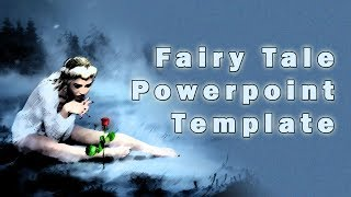 Fairy Tale Powerpoint Template with Clip Art