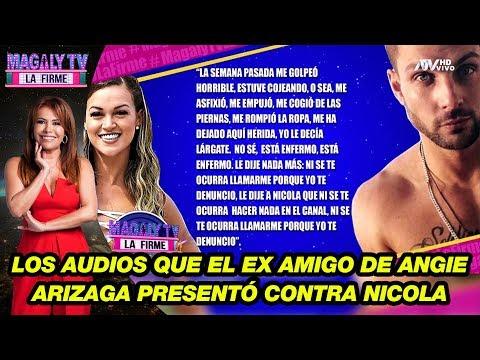 Angelo Lazo: Los audios que el ex amigo de Angie Arizaga presentó contra Nicola Porcella