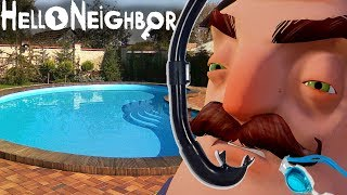 - 771 ПРЫЖОК СОСЕДА В БАСЕЙН В ПРИВЕТ СОСЕД БЕТА 3 Hello Neighbor Beta 3