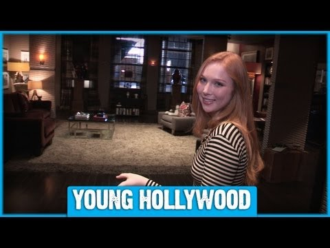 """Castle"" Set Tour With Molly C. Quinn"