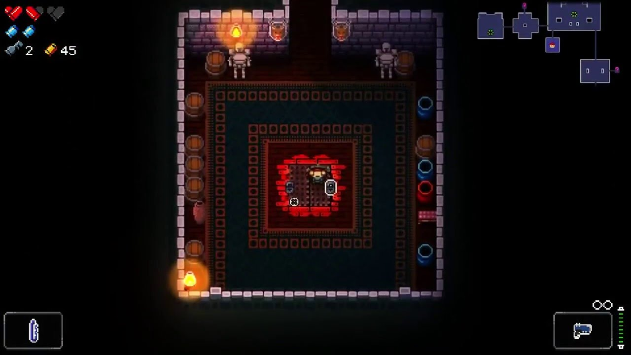 Enter The Gungeon How To Unlock The Secret Dungeon 1 Oubliette And Unlock Grate Hall Achievement Youtube