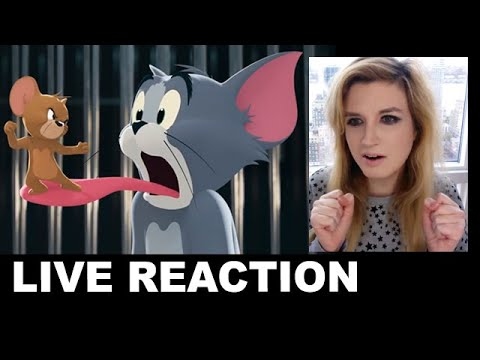 Tom & Jerry Movie Trailer REACTION