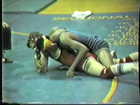 Joliet Central Blue Island Oak Lawn High Scool Wrestling 1984