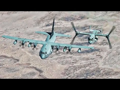 Marine Corps Special Operations Raid • Aircraft In Action