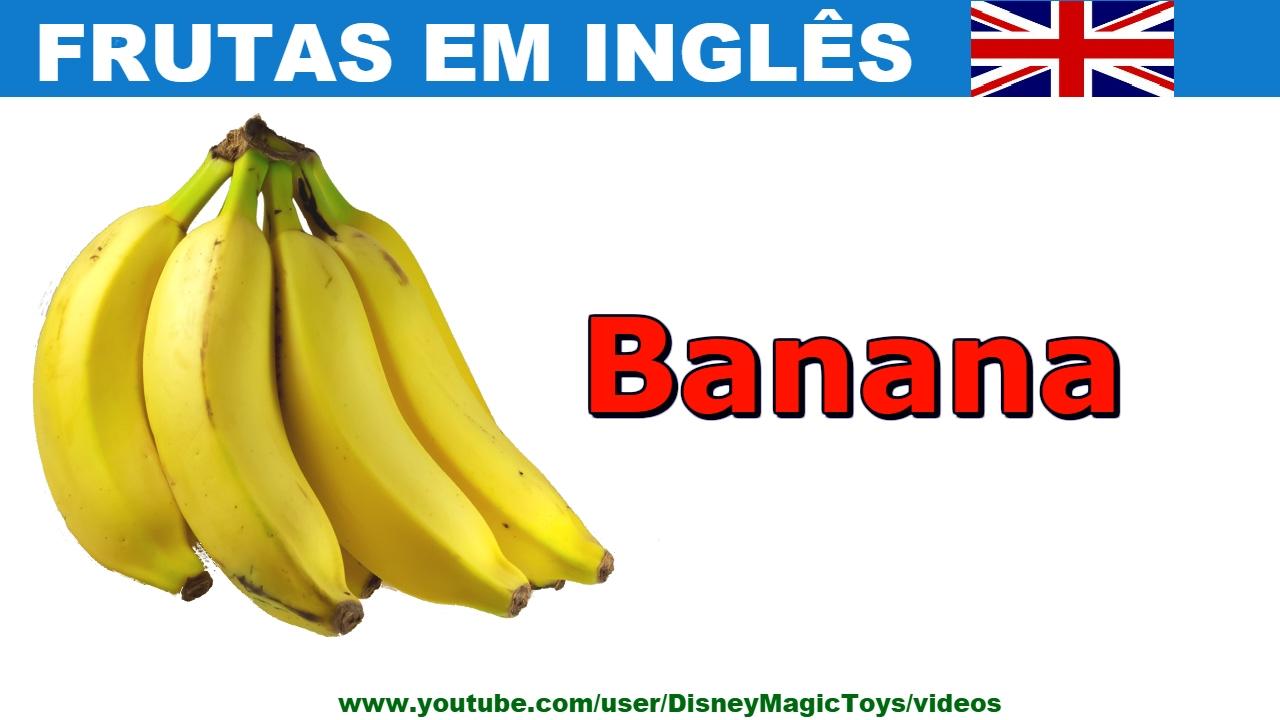 Extremamente Aprende os Nomes de Frutas em Inglês | Pronuncia e Escrita, Fácil  EV75