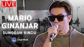 MARIO GINANJAR - SUNGGUH RINDU | LIVE PERFORMANCE |BISIK bersama Mario Ginanjar | Always HD