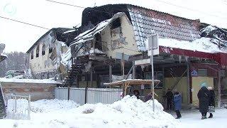 жизнь после пожара. Смогут ли восстановить сгоревший бизнес арендаторы торгового центра в Искитиме?