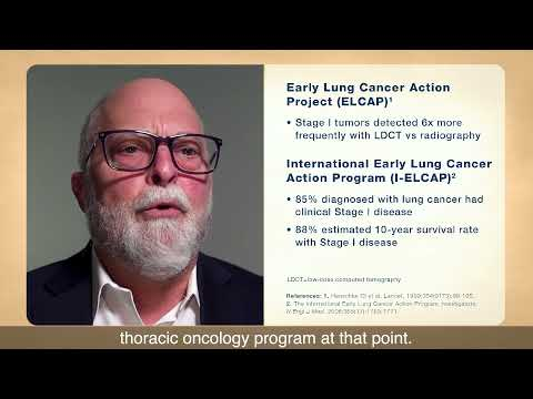 Providence Cancer Institute - Importance of Evidence-based Lung Cancer Screening Program