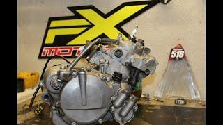 85 kx 2009 démontage moteur complet PARTIE 1 projet swap partie5scummybraap518