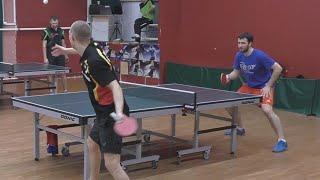 Александр МОРОЗОВ - Дмитрий ОСИПОВ Настольный теннис, Table Tennis