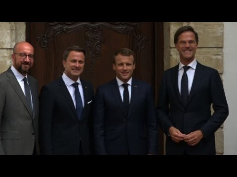 Luxembourg, Belgian, French, Dutch leaders meet for talks on EU