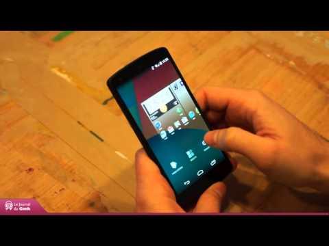 Test Google Nexus 5 (Android 4.4 KitKat)