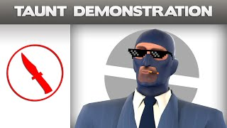 [TF2] Taunt Demonstration - Ultimate Insult [SPY]