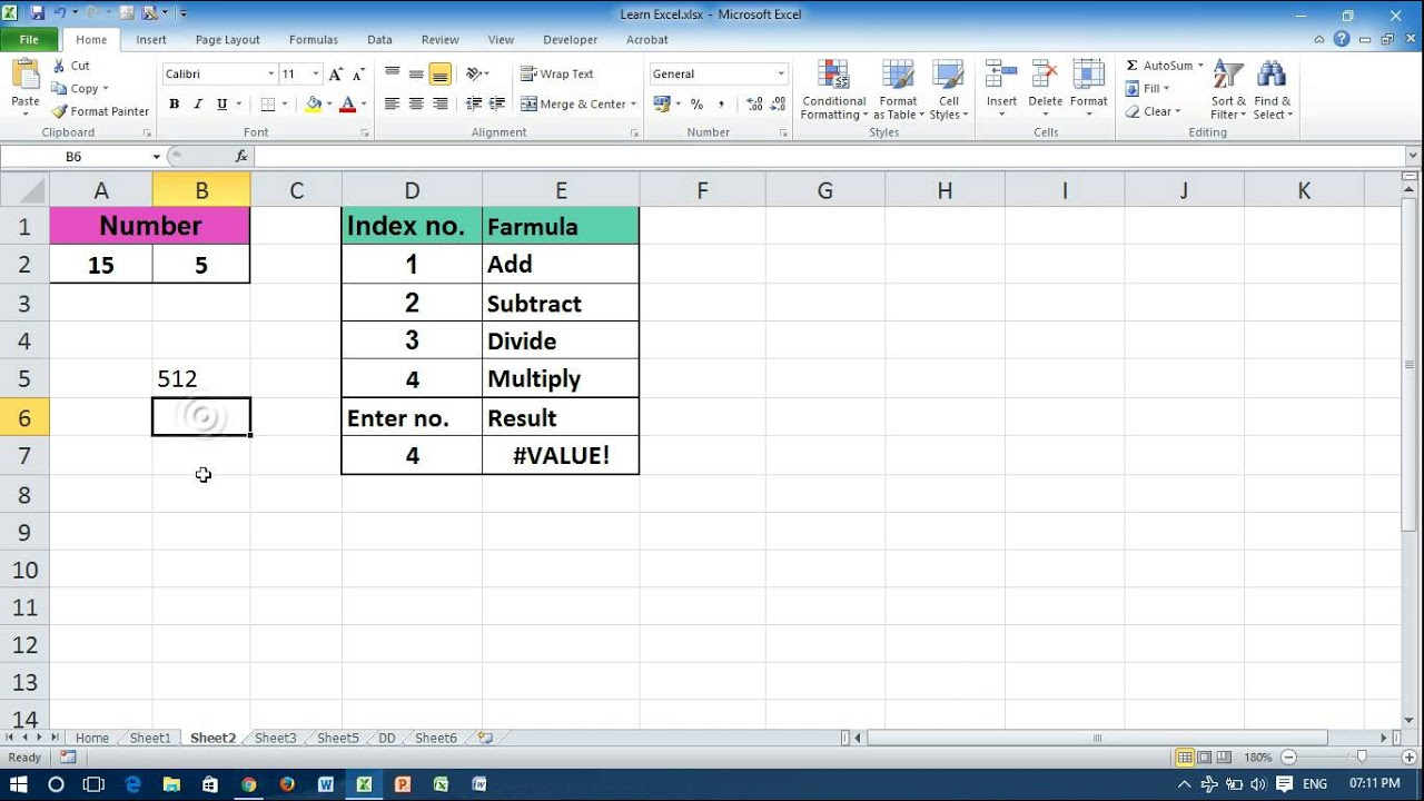 Stop automatic calculations in excel 2010 12