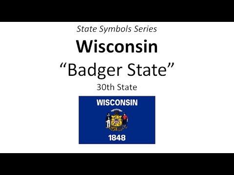 State Symbols Series - Wisconsin