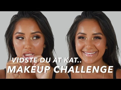 VIDSTE DU AT.. MAKEUP CHALLENGE thumbnail