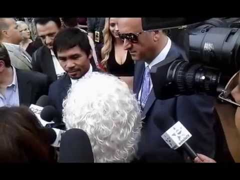 Manny Pacquiao vs Floyd Mayweather (Red Carpet event)