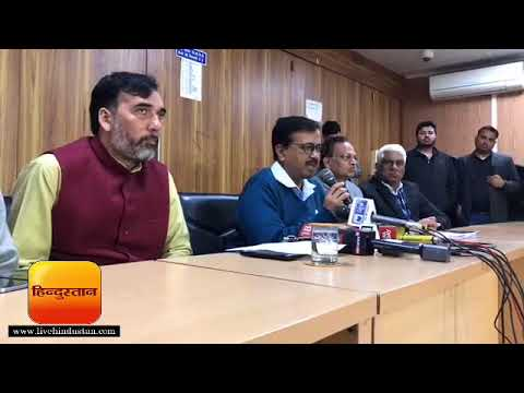 Delhi Chief Minister Arvind Kejriwal Press meet on Delhi sealing