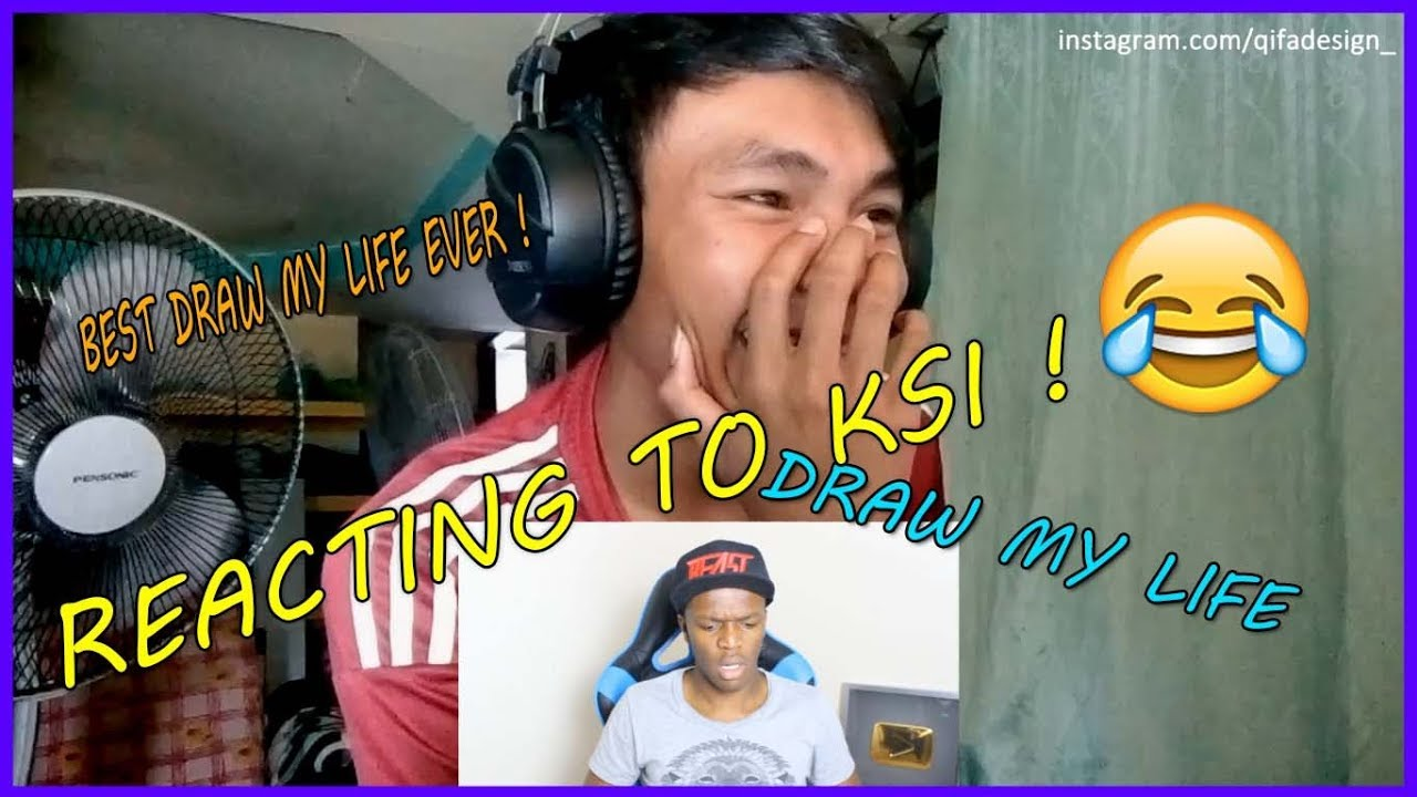 Download Reacting to KSI - Q&A SATURDAY DRAW MY LIFE   AfieQzie